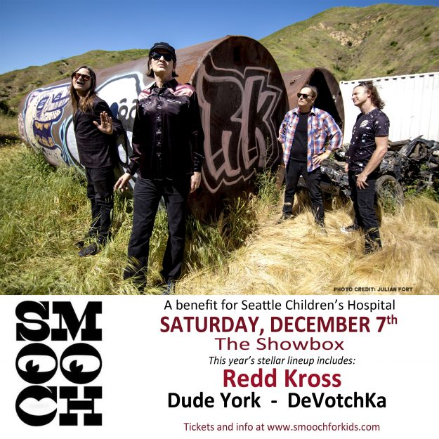 December 7 2019, Redd Kross perform at Smooch Benefit in Seattle